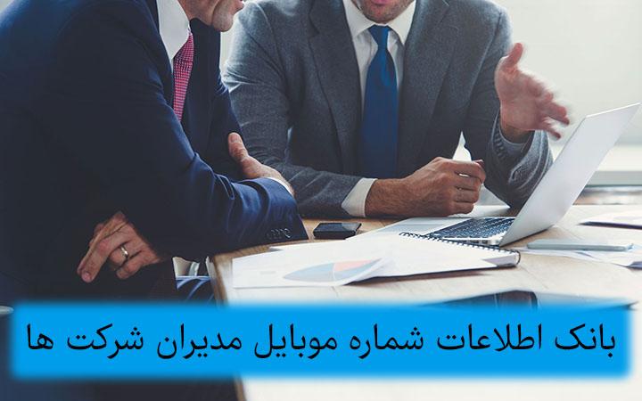 بانک اطلاعات شرکت ها