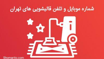 شماره موبایل و تلفن قالیشویی های تهران